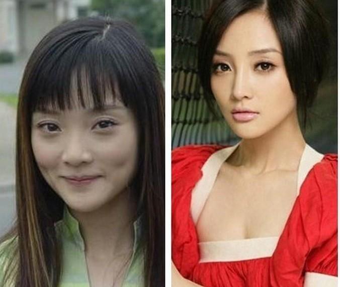 刘晓庆整容后的照片图片大全 刘晓庆在微博上传最新照片,已