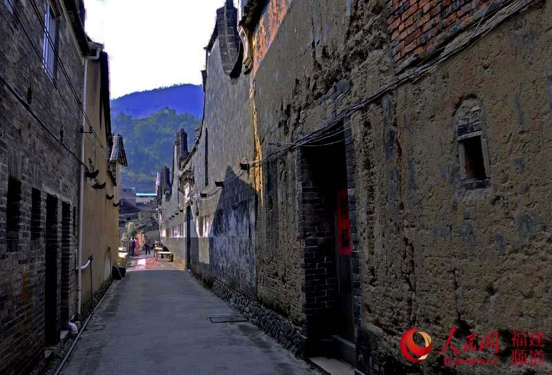 中国古巷风景壁纸
