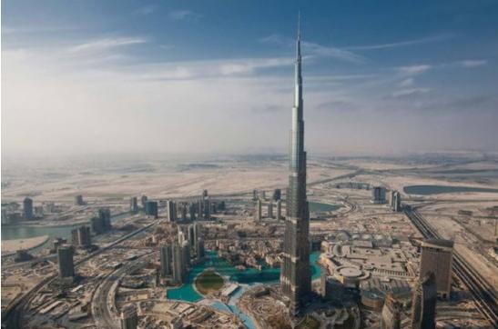 世界最高的摩天大楼(哈利法塔)