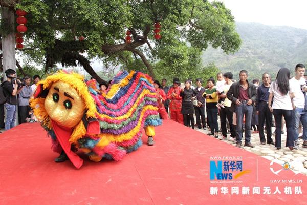 攻略福州(永泰)首届旅游节开幕嵩口古镇水上快穿完美民俗许诺图片