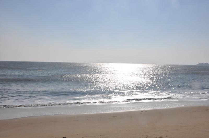 莆田湄洲岛黄金沙滩海岸公园