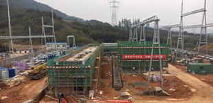 龙岩加紧建设南三龙铁路配套用变电站
