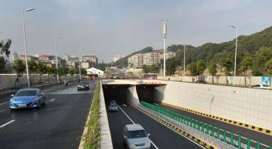 福州湖东路隧道正式通车