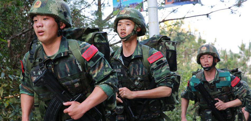福建武警特战队