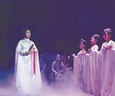 南音《咏梅》献演中国曲艺节