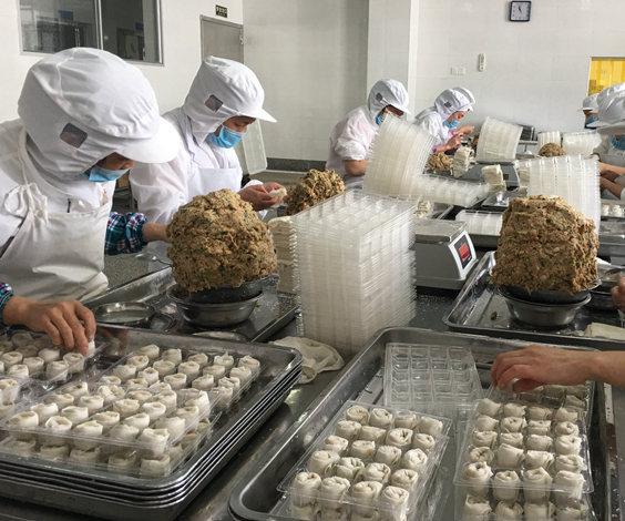 福州鱼糜制品畅销海外