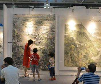 """""""海上丝绸之路""""中国画作品展"""