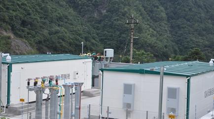 永泰县首个35千伏预制舱型变电站成功投运
