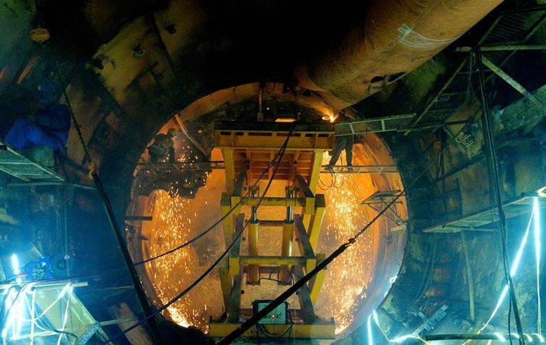 """厦门地铁3号线建设""""海底隧道洞内盾构机弃壳解体""""完成"""