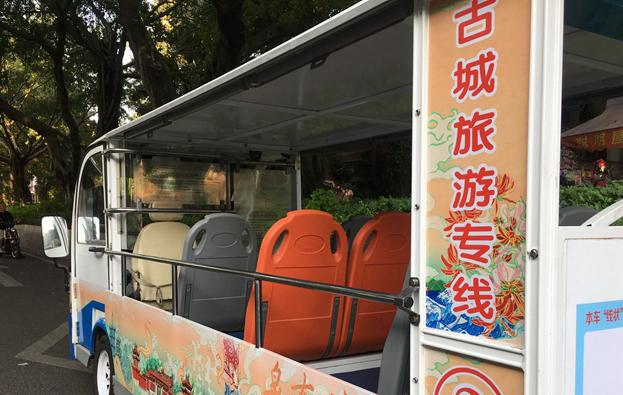 """泉州社区巴士""""小白""""21日起推出2条古城旅游专线"""