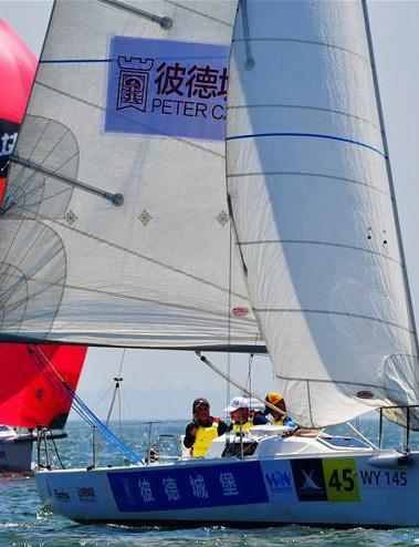 中国俱乐部杯帆船挑战赛厦门开赛