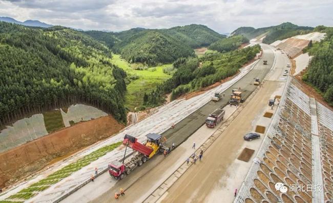 南平高速公路发展轨迹:四十年来通车里程近千公里为经济发展注入新动能
