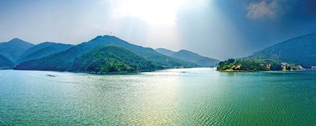 岱仙湖国家级水利风景区.(资料图片)