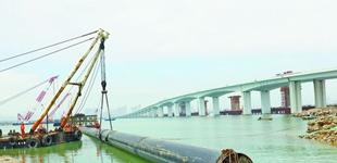 厦门西水东调原水管道工程迎关键节点