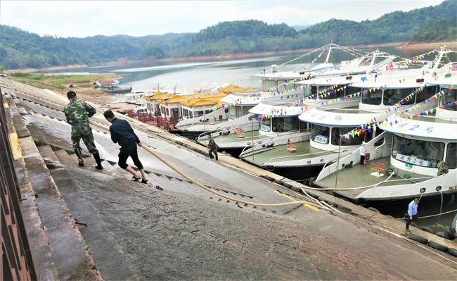 泰宁大金湖航线复航福建省水上旅游客运加快复工复产